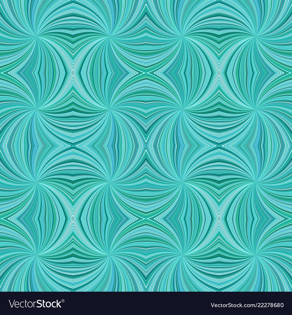 Turquoise abstract psychedelic seamless striped