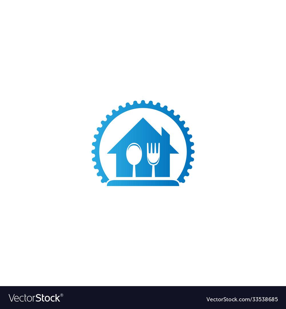 Caferestaurant Icon Logo Design Royalty Free Vector Image