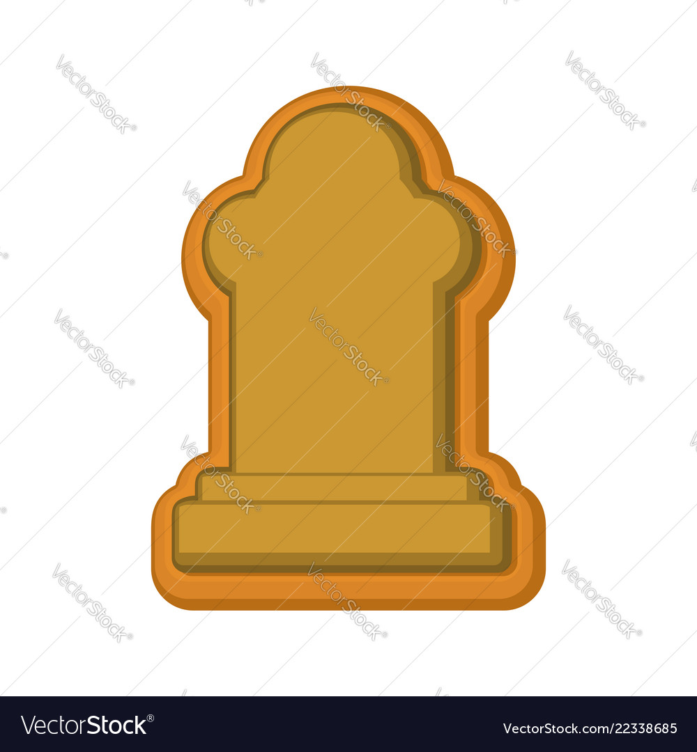 Halloween cookie tombstone gingerbread rip