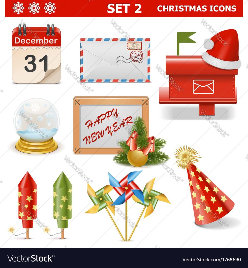 Christmas Icons Set 2