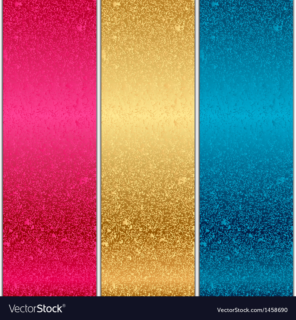 Colorful metal textures