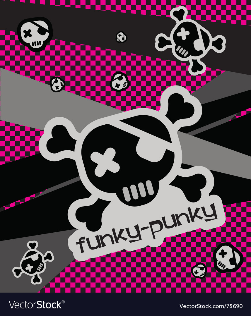 Funky-punkie illustration