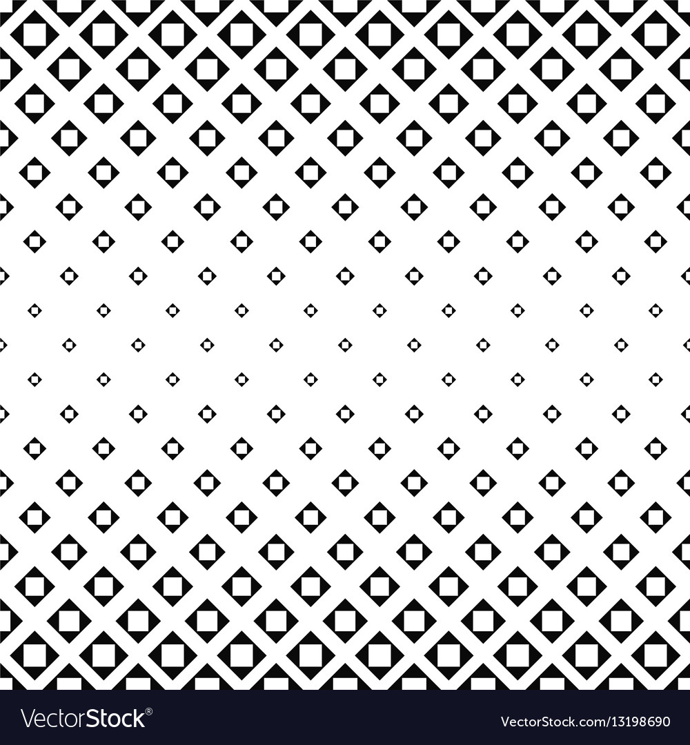 Monochrome square pattern background design