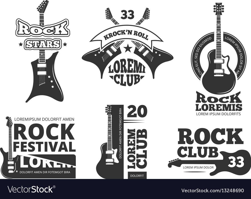 Vintage heavy rock jazz band guitar shop music