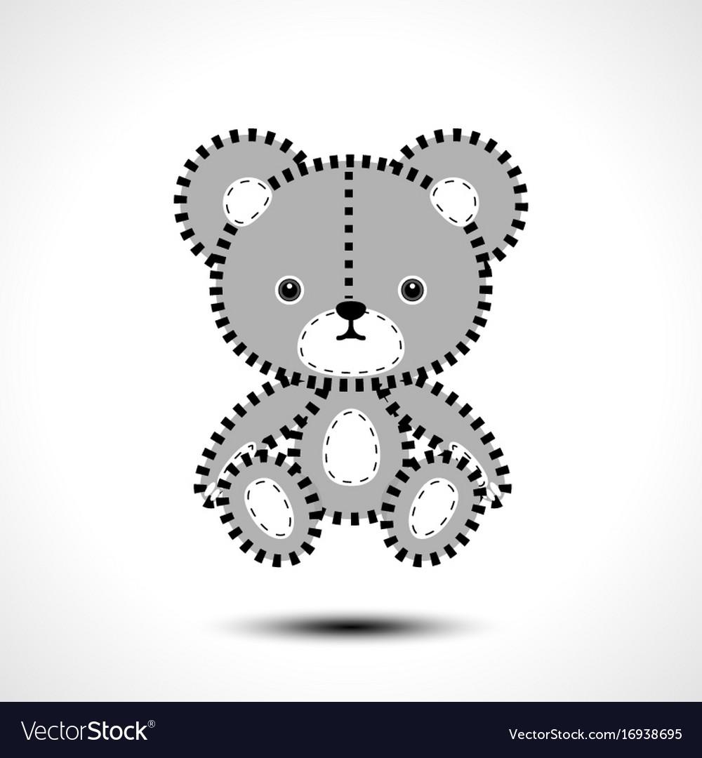 Flurry teddy bear