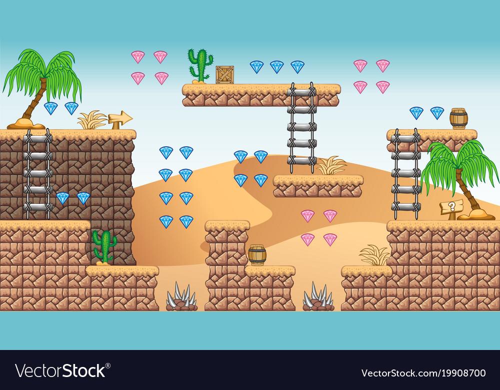 2d tileset platform game 11