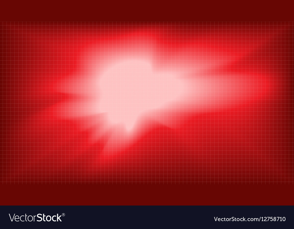 Digital abstract empty red background