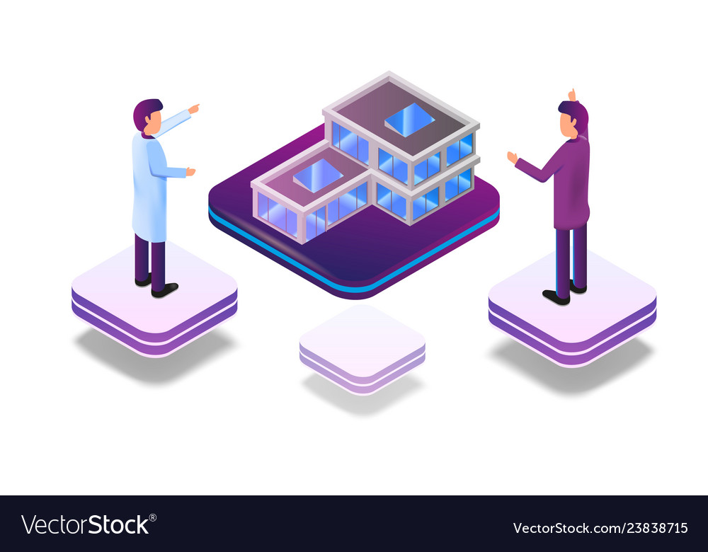 Isometric augmented virtual reality for architect