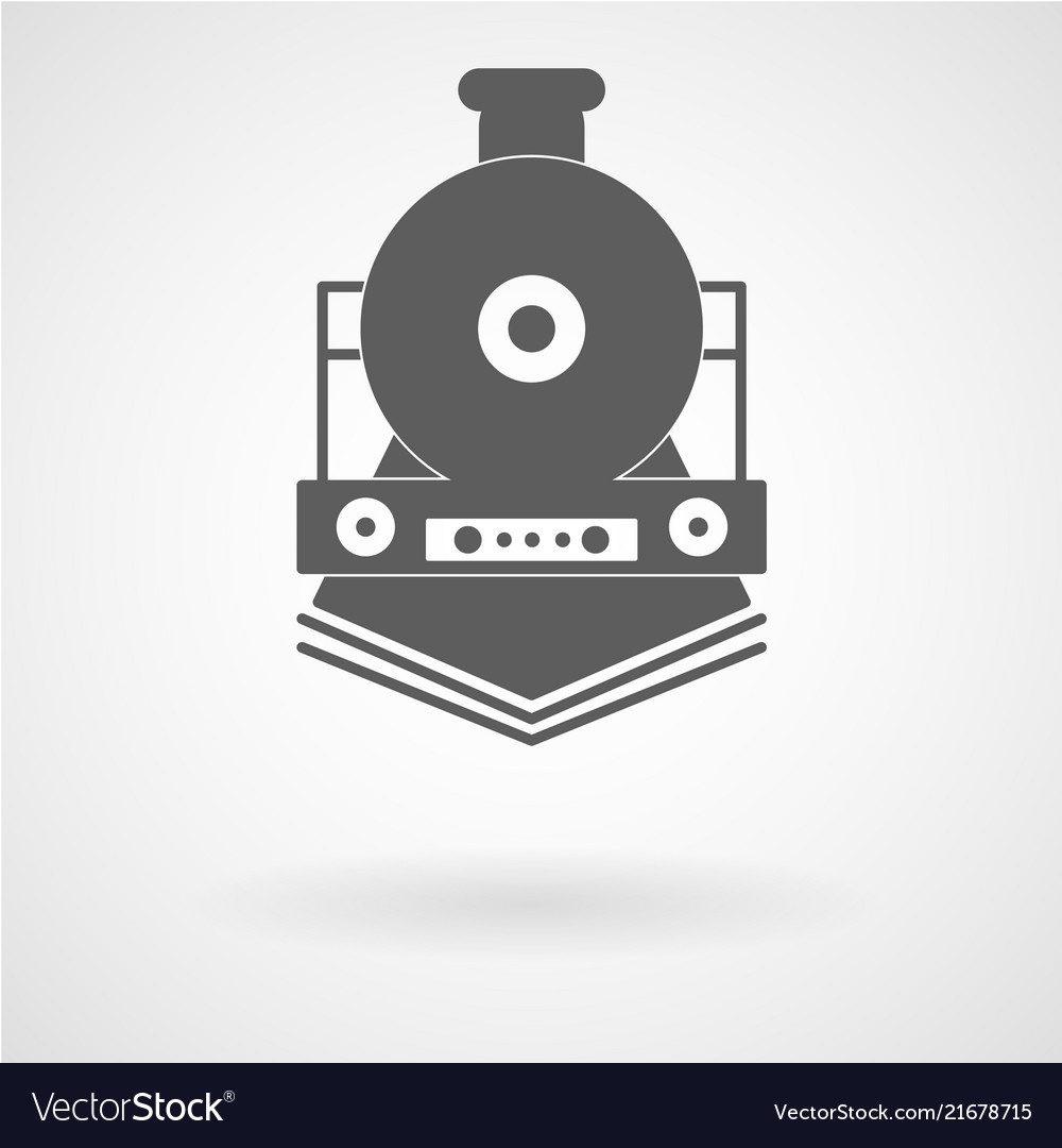 Simple train icon