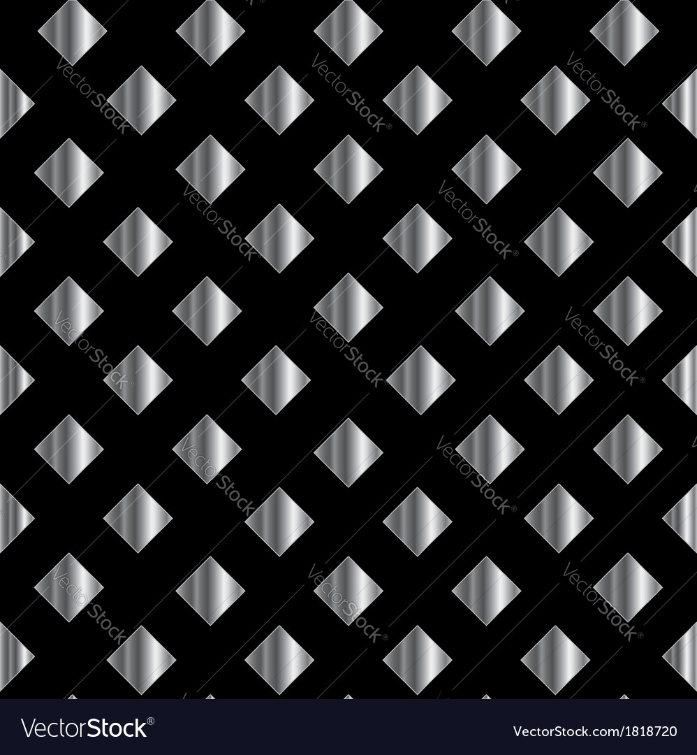 Stainless steel background vector image