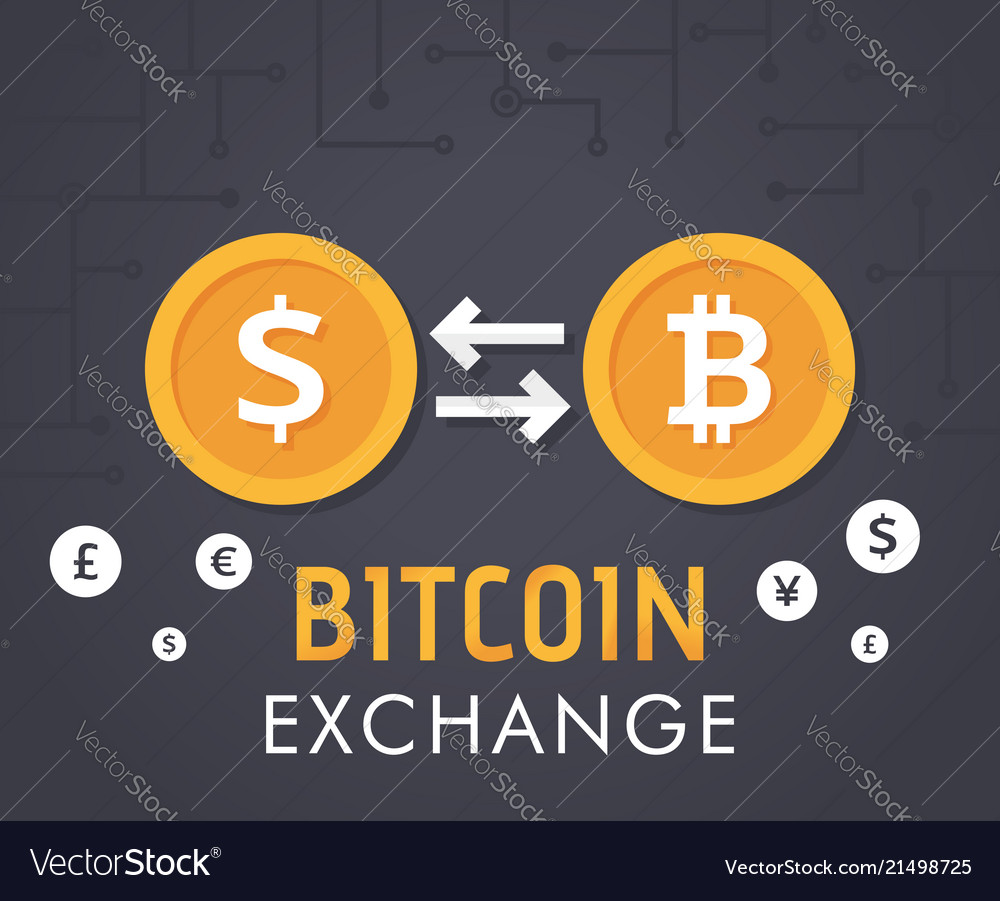 Currency Exchange Royalty Free Vector