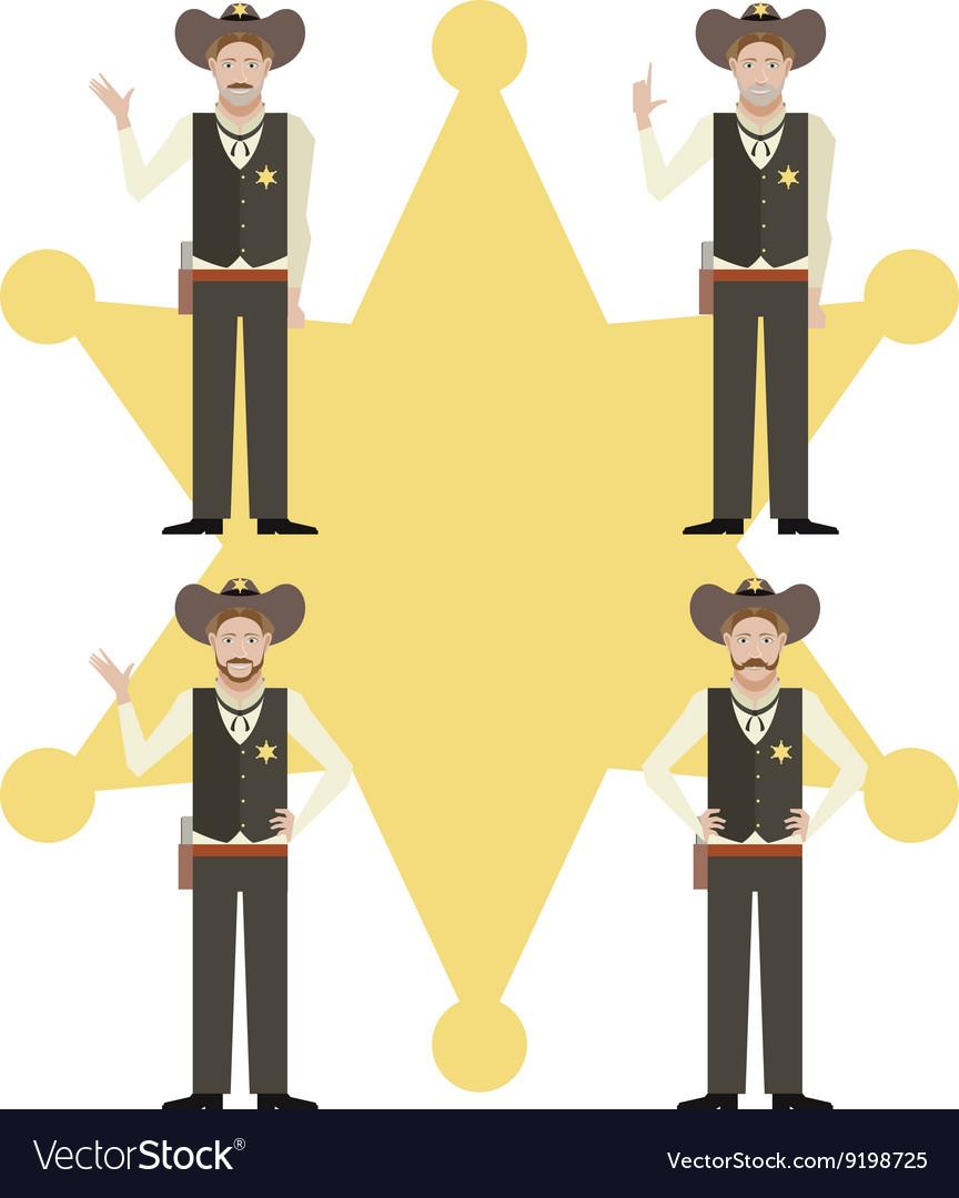 Set sheriffs