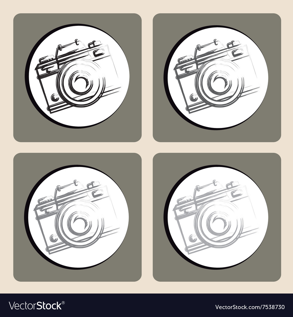 Camera icons design