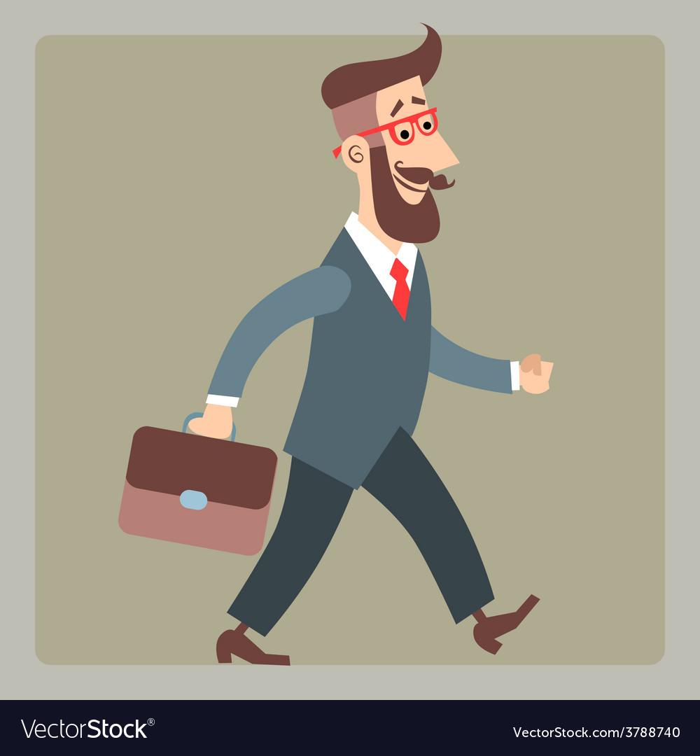 Картинки идущего человека на работу смешные