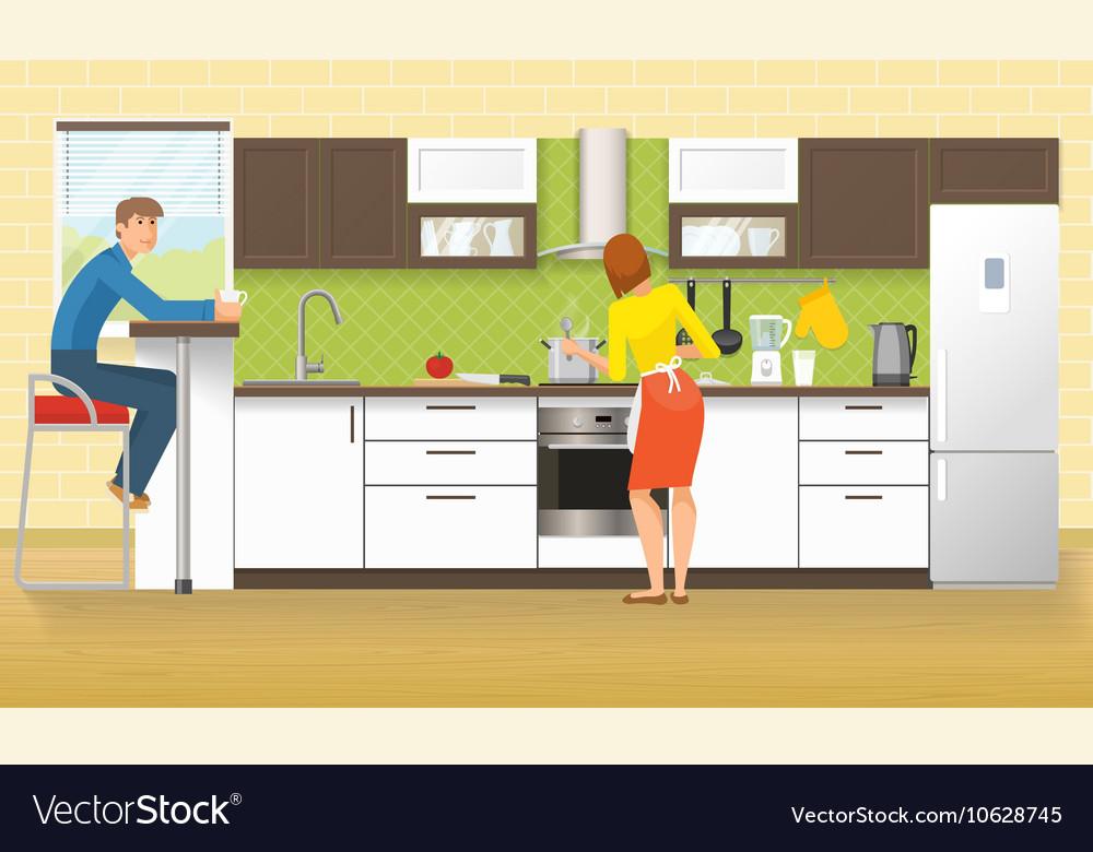 People At Kitchen Design