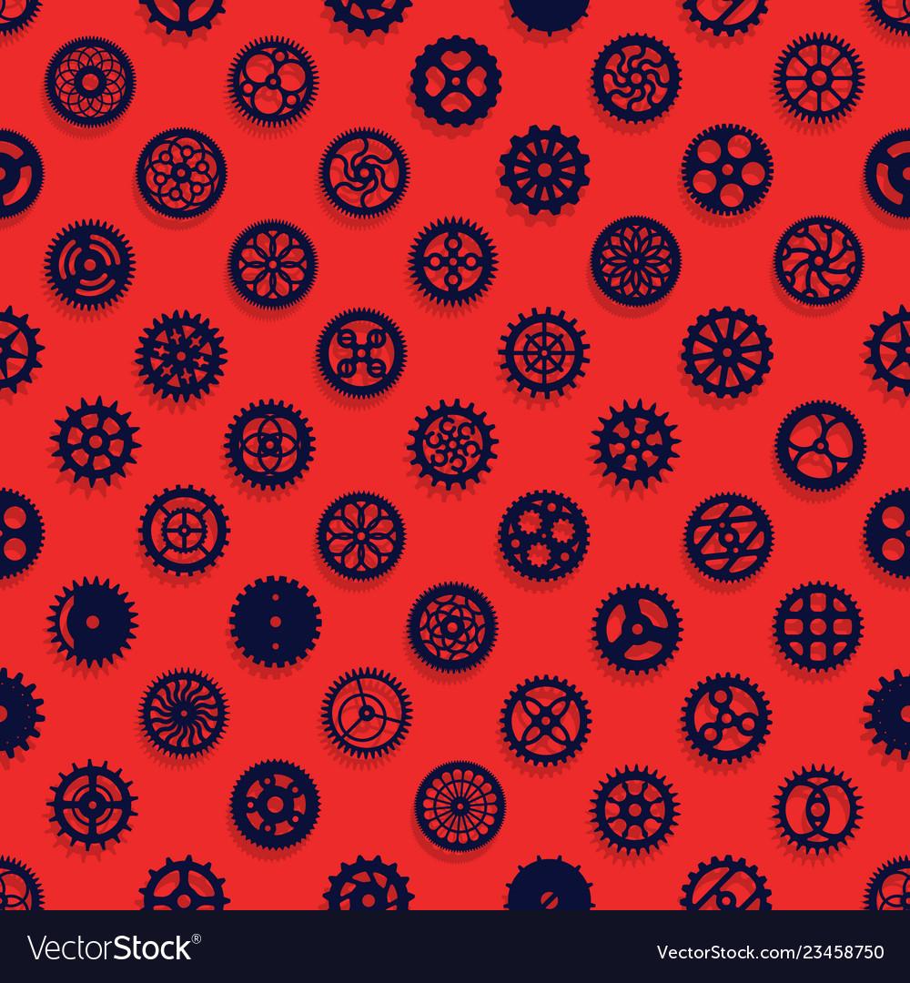 Creative modern steampunk digital paper design