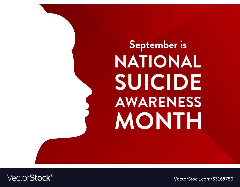 National suicide awareness month holiday concept