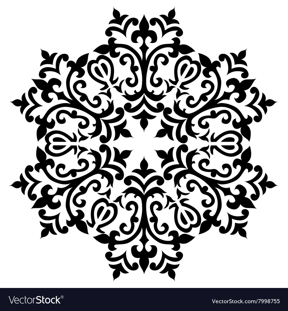 Antique ottoman turkish pattern design sixty