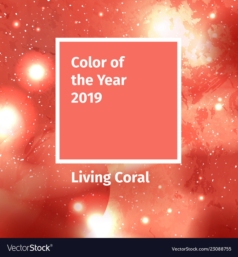 Color of the year 2019 color trend palette