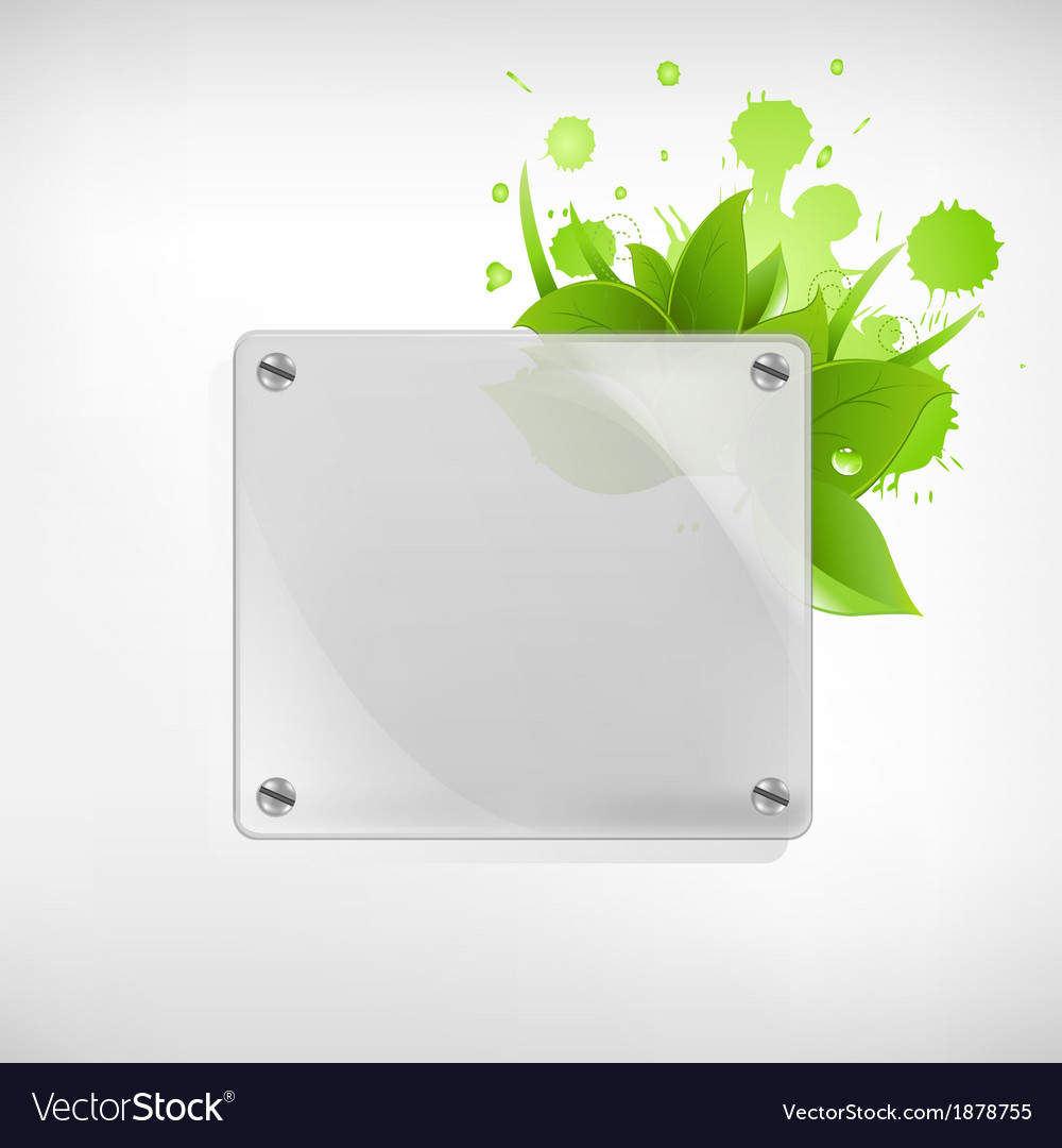 Eco Glass Background