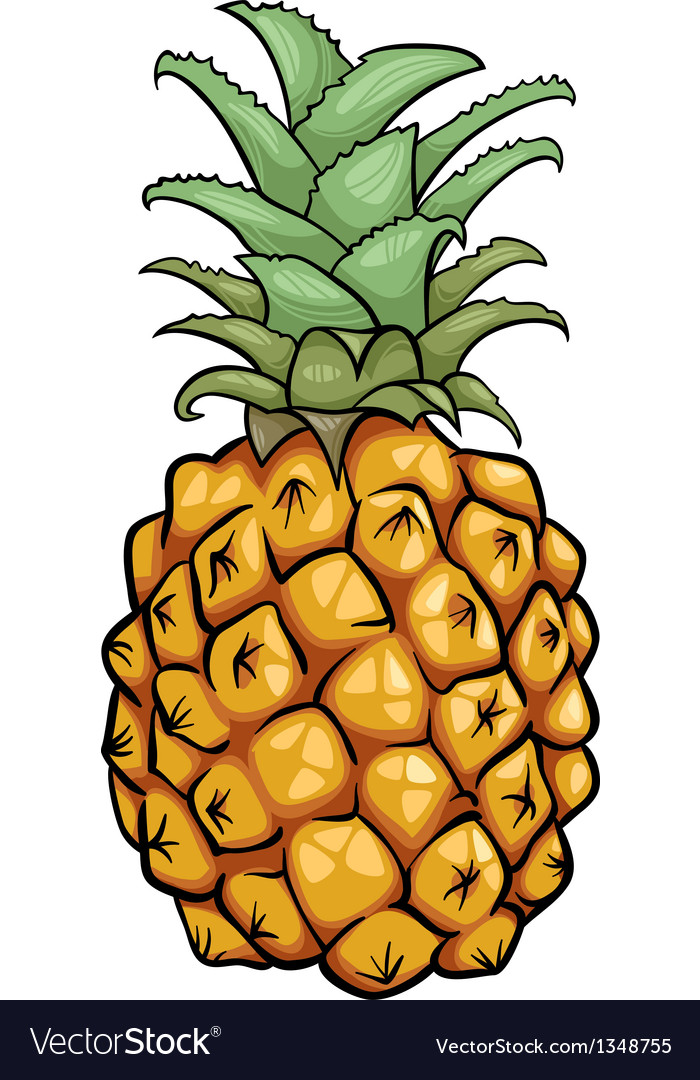 Cartoon pictures of pineapples - Ananas dessin ...