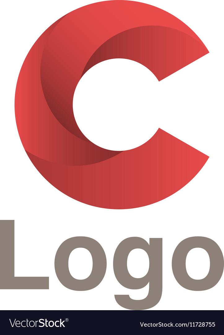 Red circles logo concept
