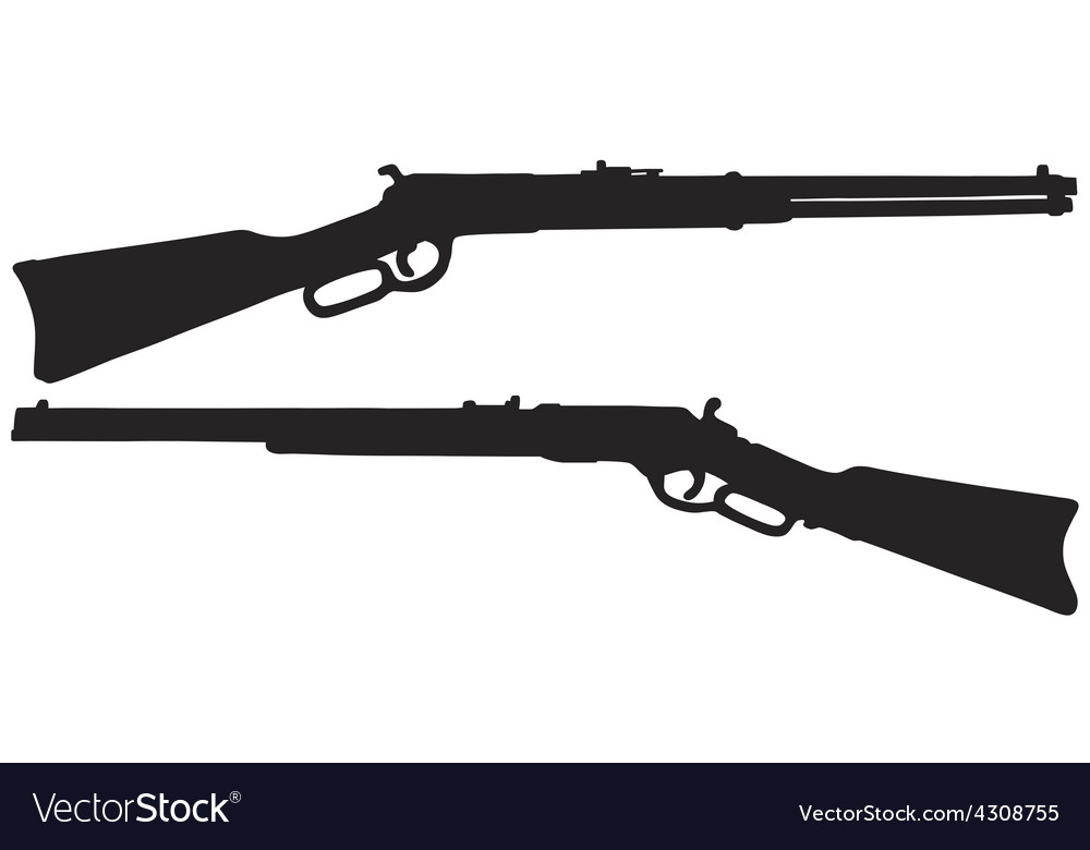Two old american rifles