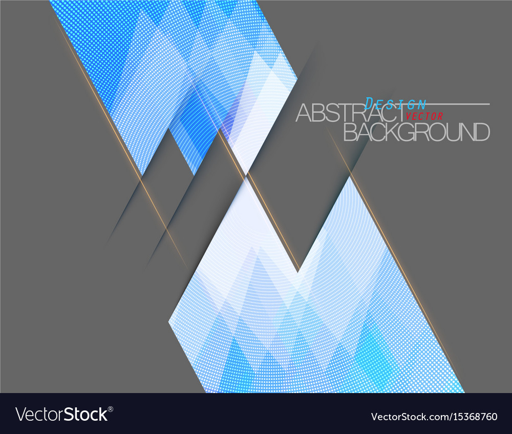 Abstract blue colors square shape scene