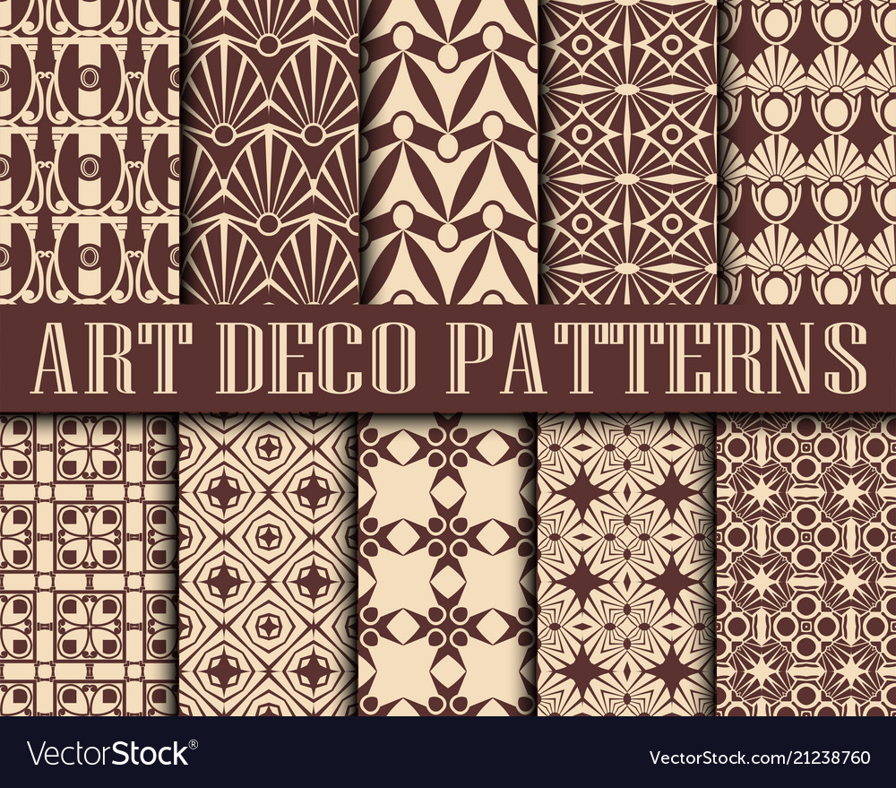 Art deco patterns