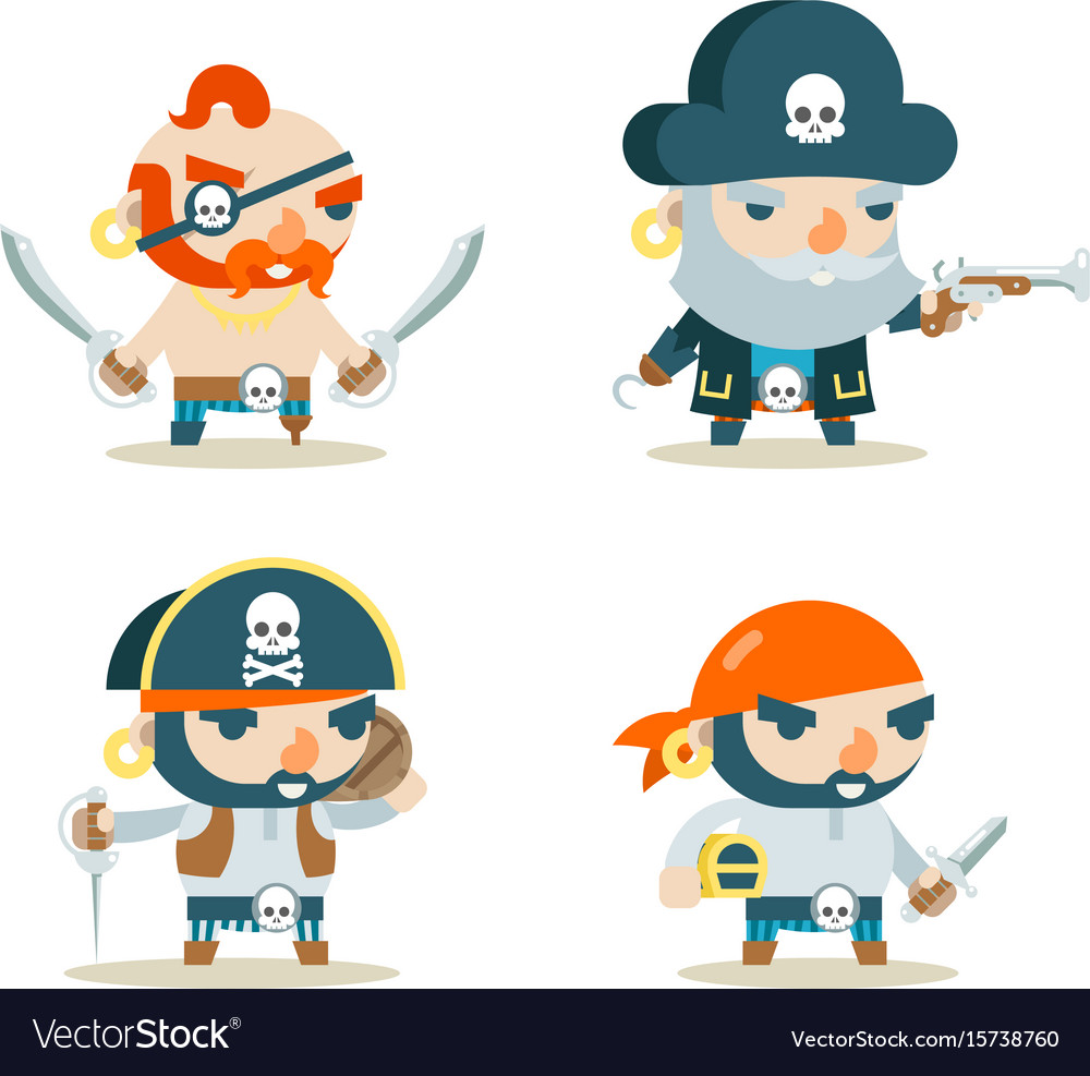 Pirate buccaneer filibuster corsair sea dog