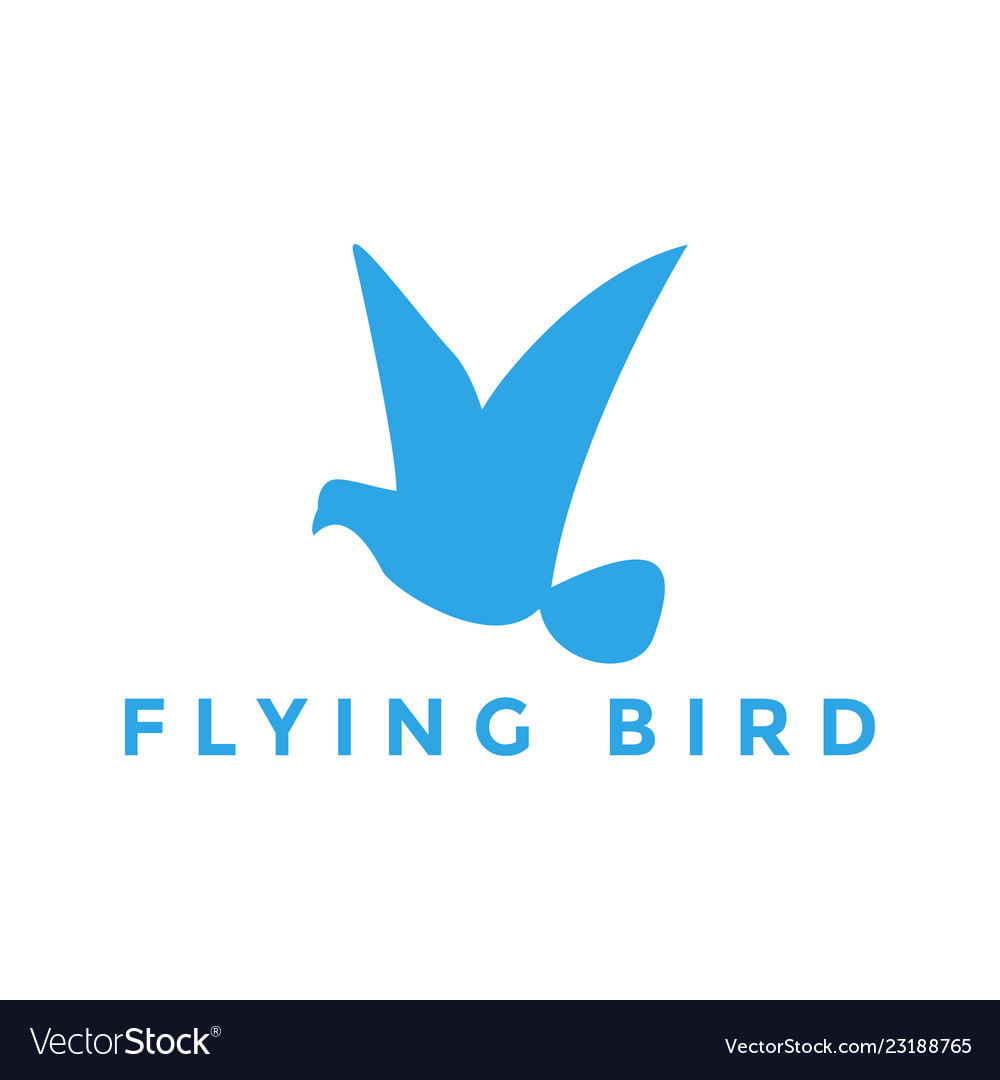 Flying bird logo design inspiration