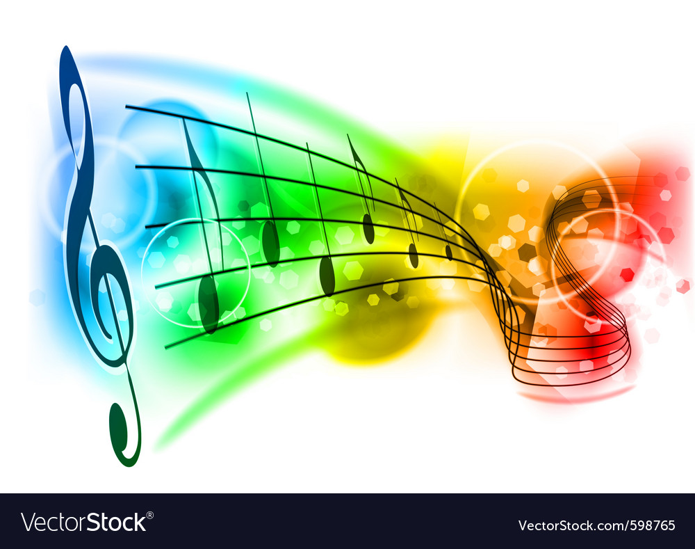 music background royalty free vector image vectorstock