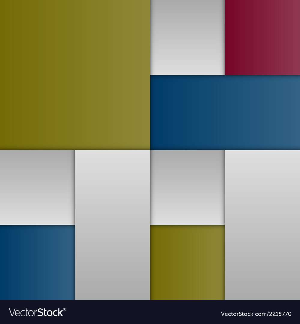Colour Layout vector image