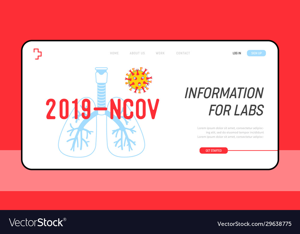 2019 ncov cell with human lungs and coronavirus