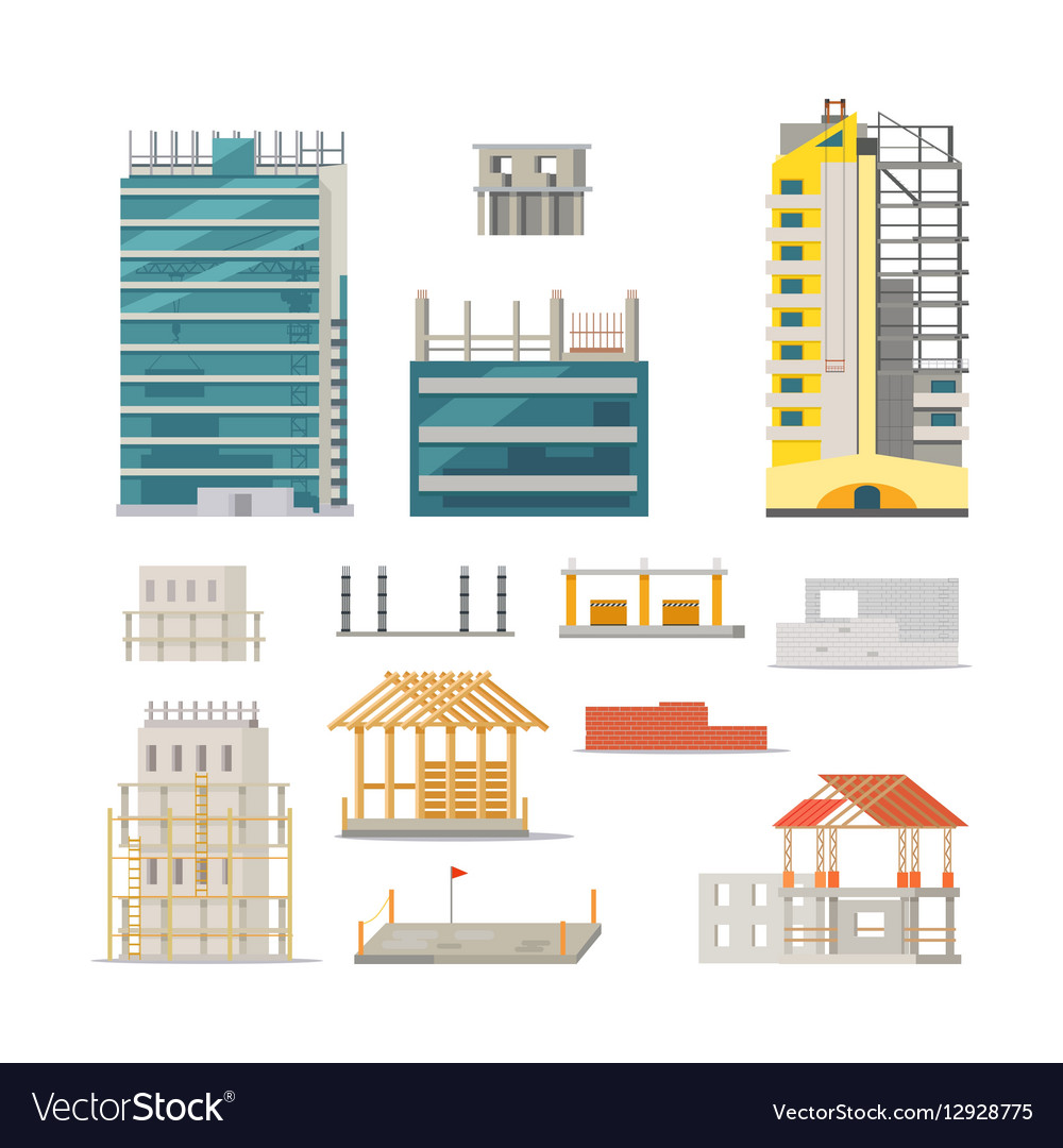 Building Stages of Modern Building Construction