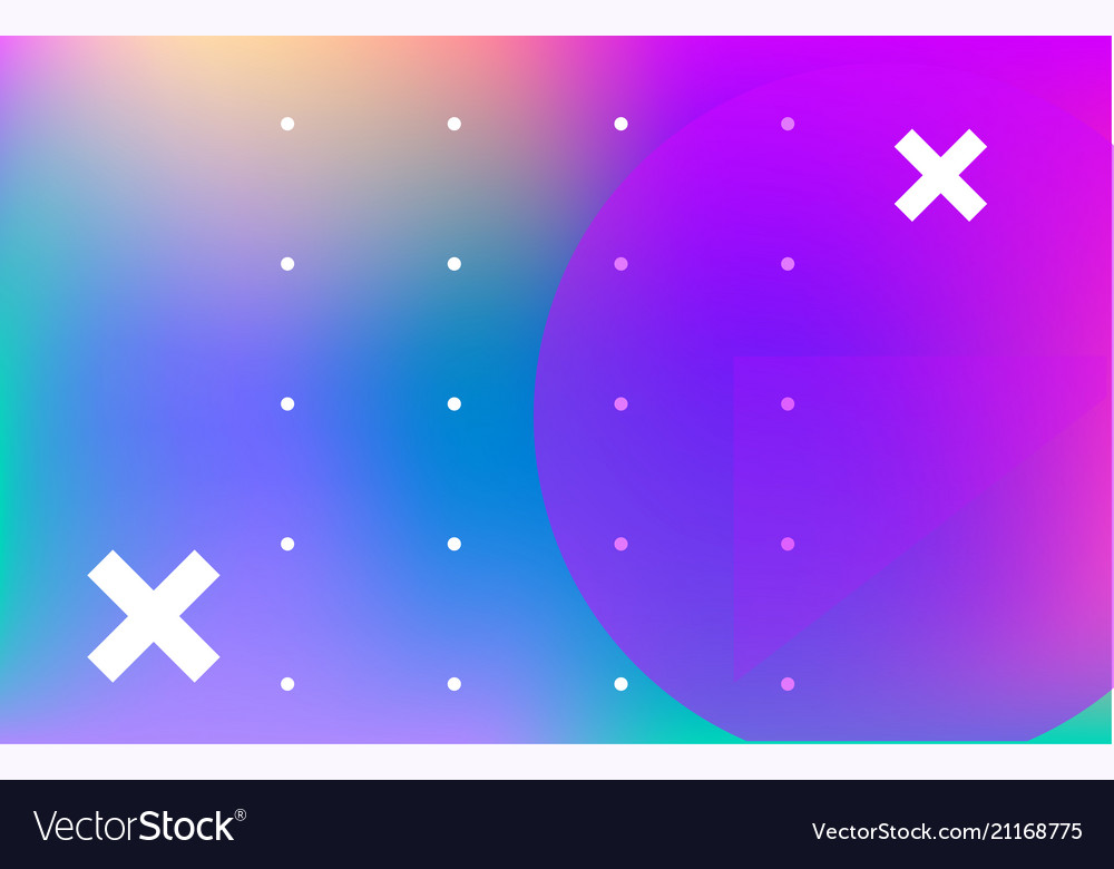 Modern abstract colorful poster template abstract