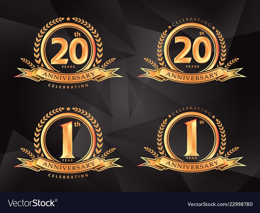 1th 20th anniversary celebrating classic logo