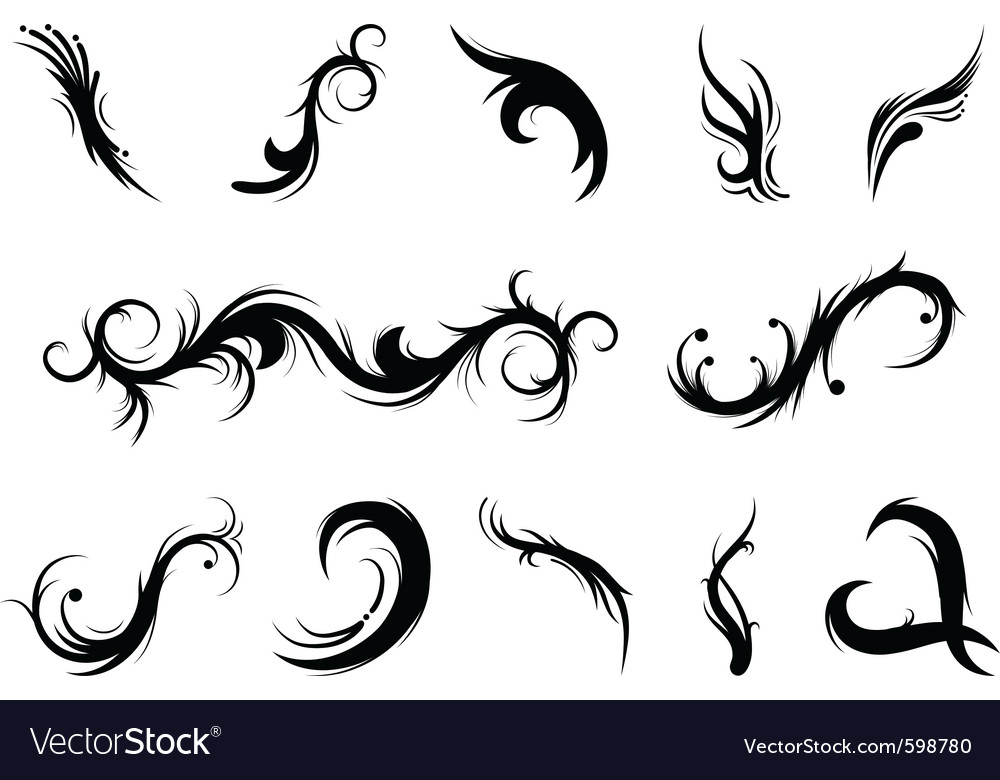 Curly elements