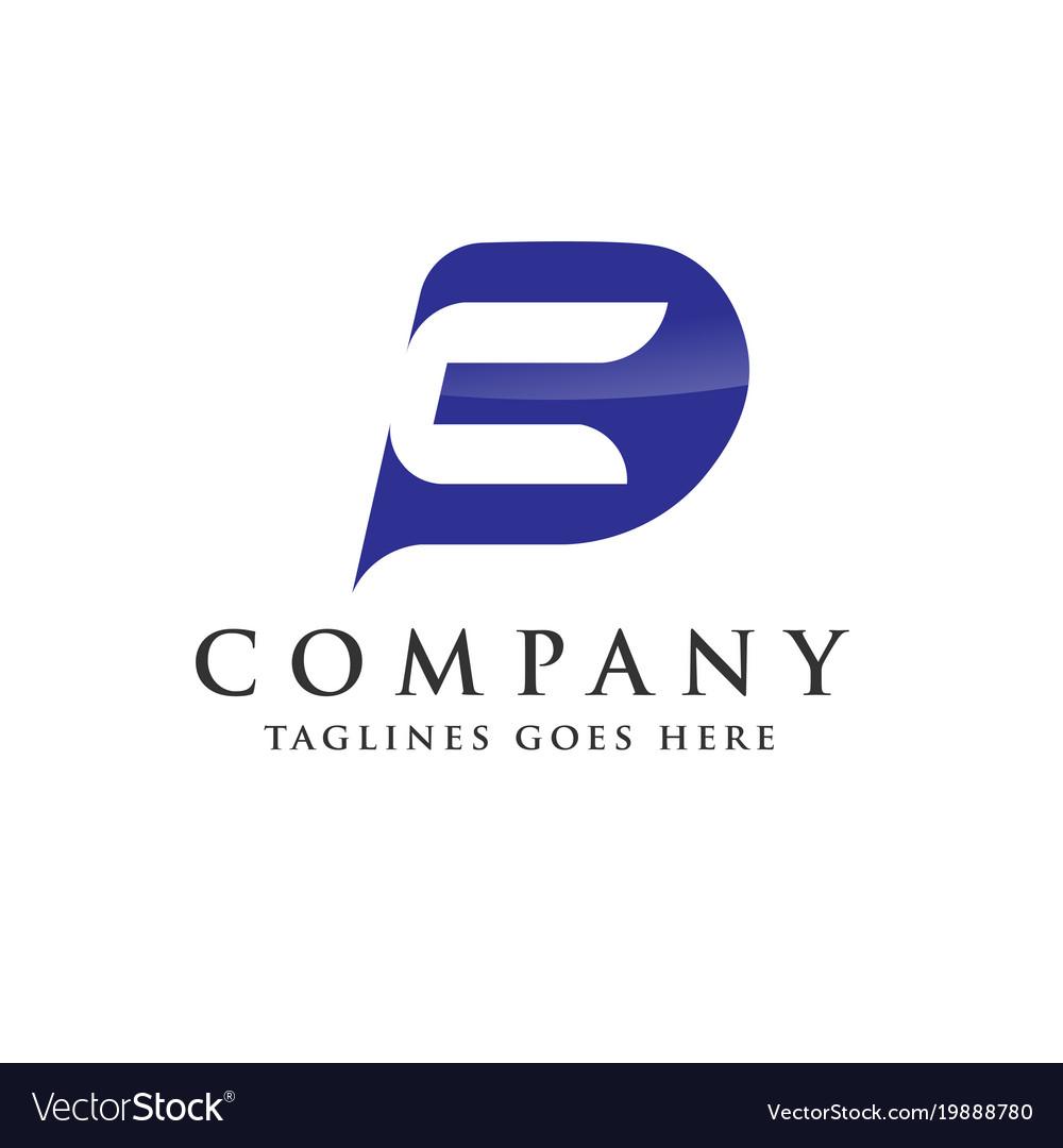 Pc letter logo