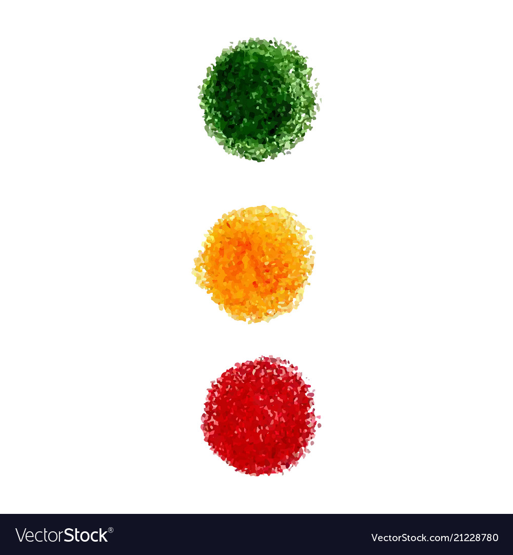 Set of crayon scribble texture stain isolated on