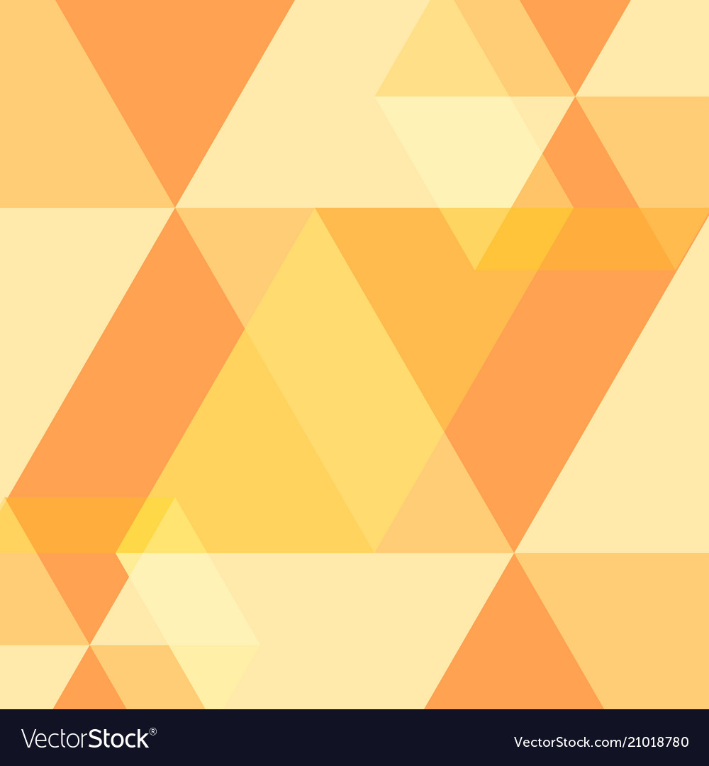 Yellow abstract square background