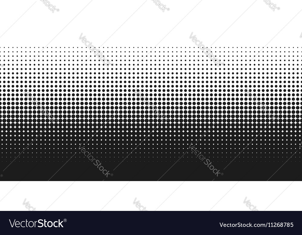 Dotted gradient white and vector image
