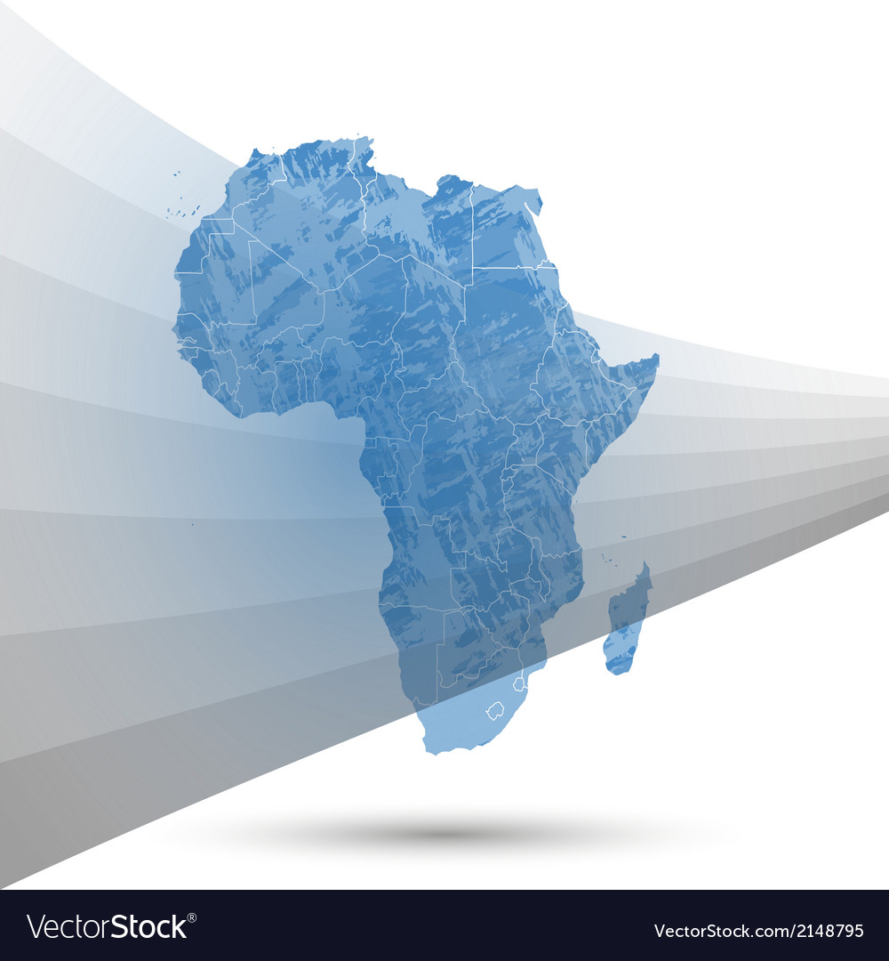 Africa Map Background.Africa Map Background Royalty Free Vector Image