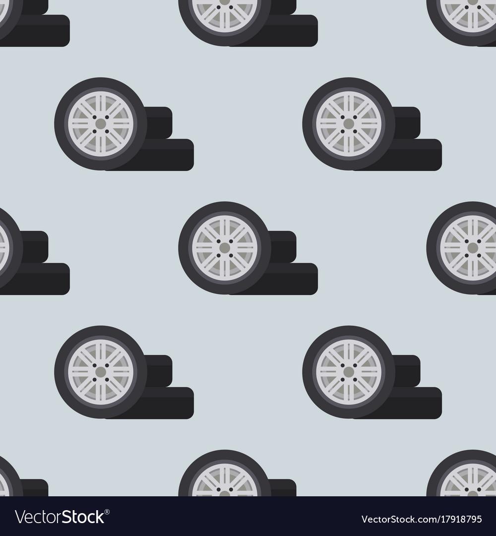 Auto service shop wheels disks and tires