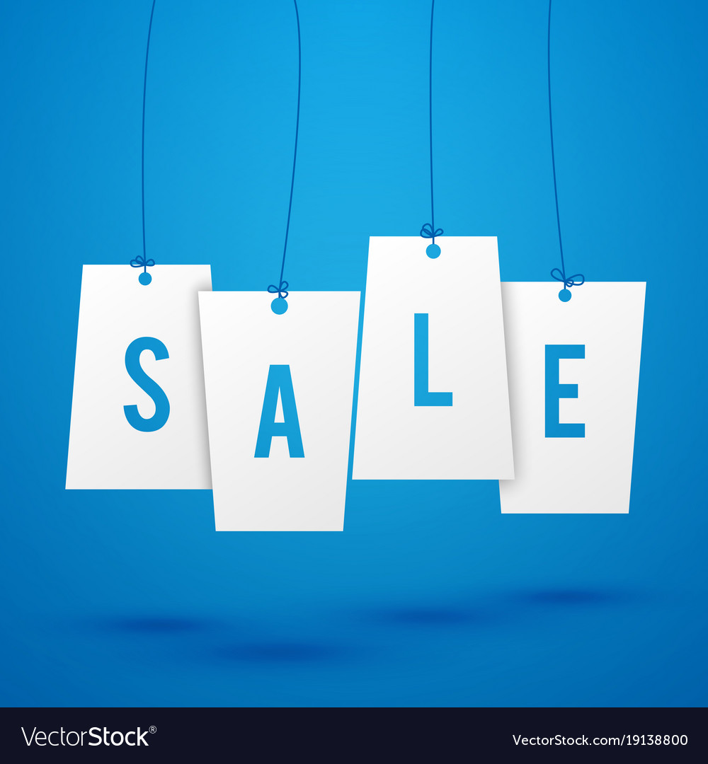 Sale Advertisement Background Vector Image
