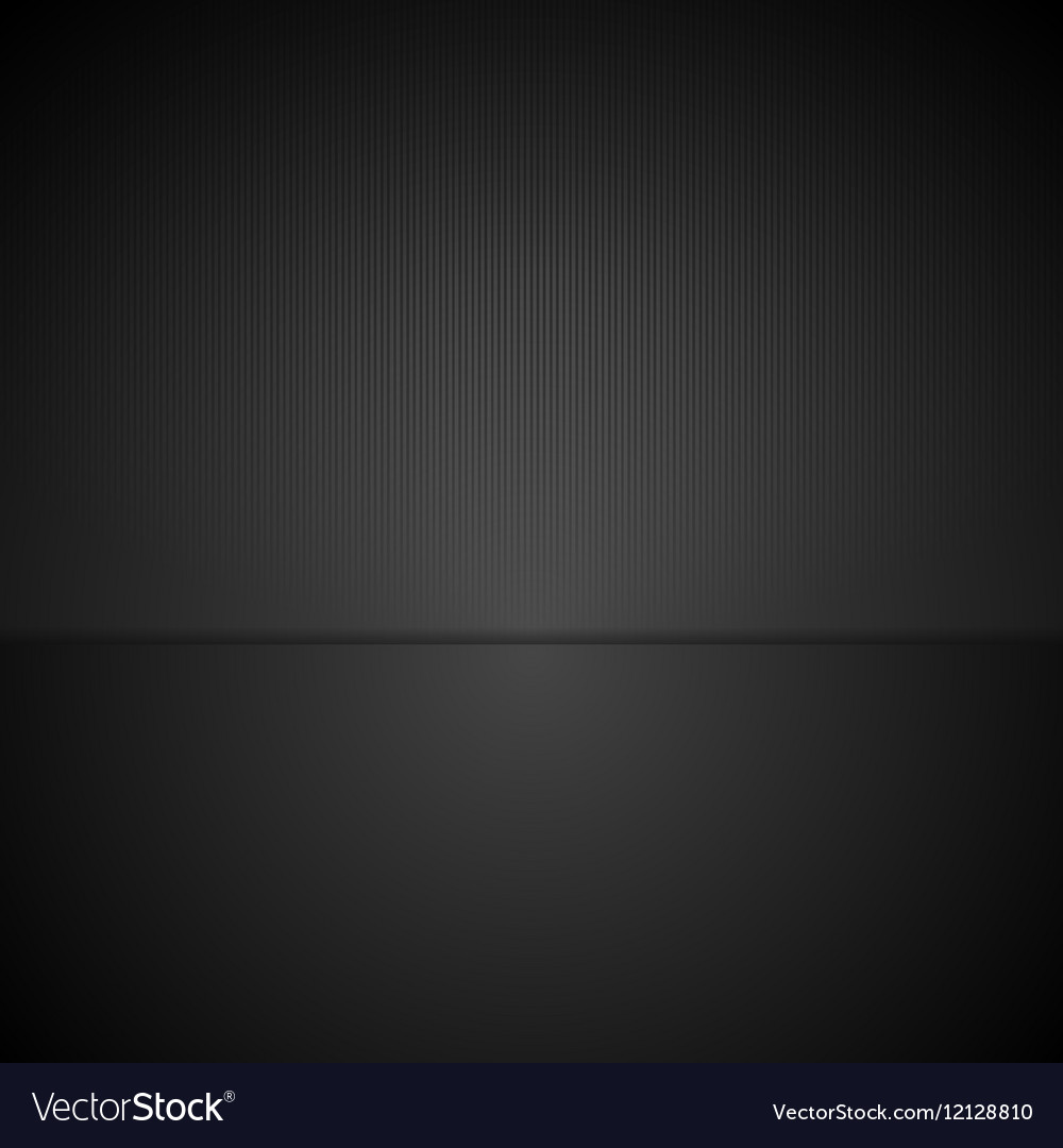 Abstract black minimal tech background