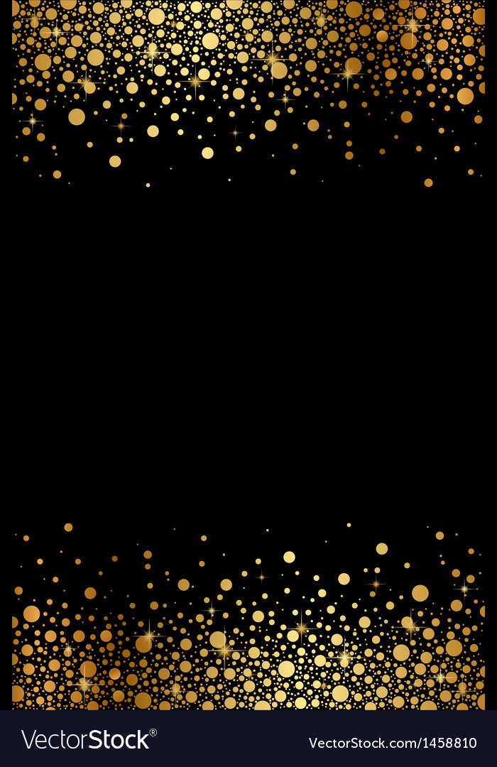 Black And Gold Luxury Frame Royalty Free Vector Image