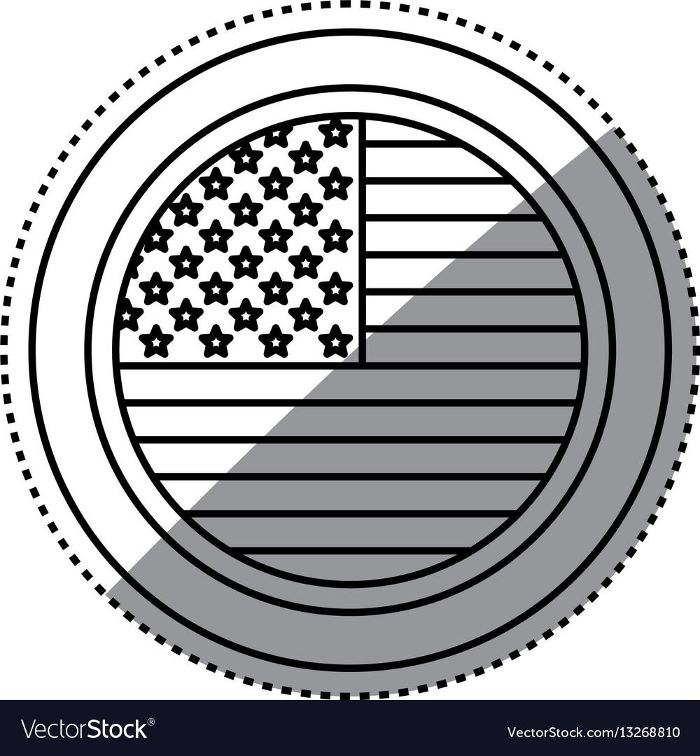 United states patriotic symbol