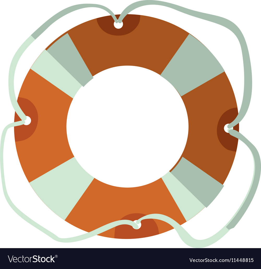 51fcd8efe0bf Lifeguard float icon Royalty Free Vector Image
