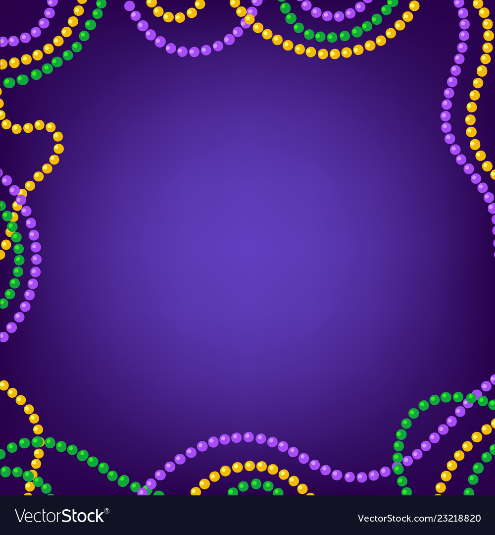 Mardi gras carnival background with colorful